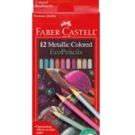 12 ct Metallic Colored Pencils